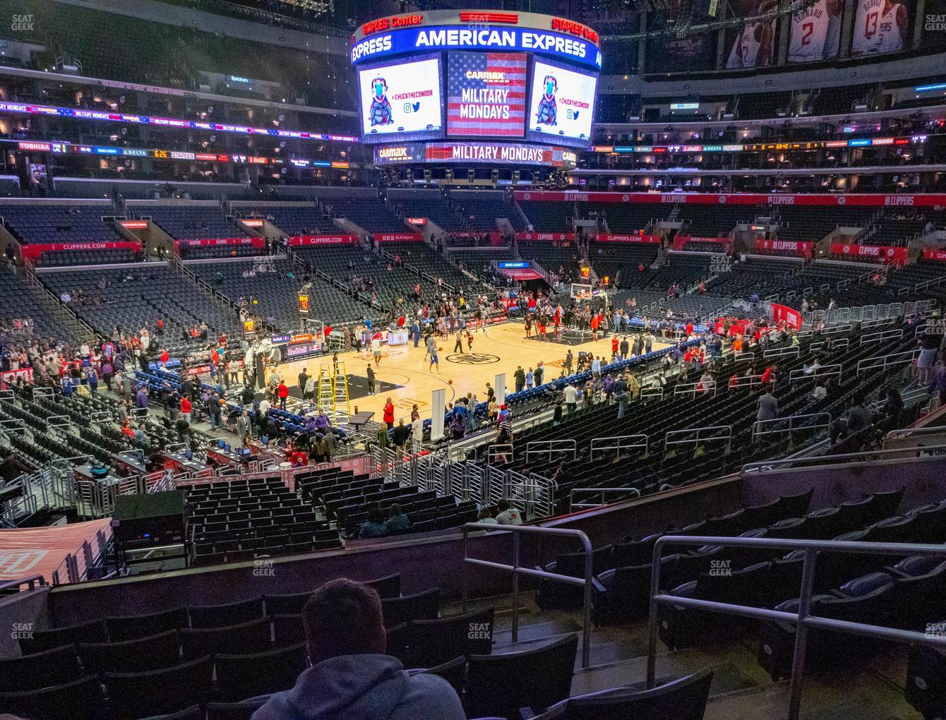 Los Angeles Lakers at Staples Center Premier 18 View
