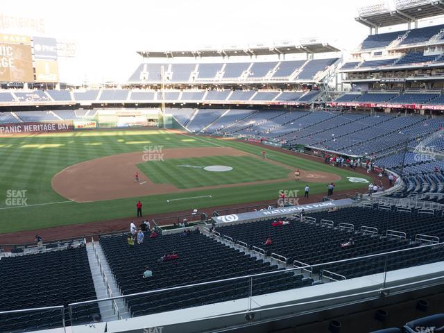 Nationals Park Section 207 view