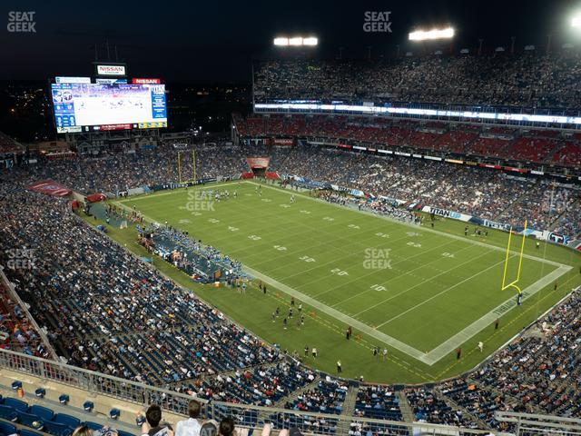 Nissan Stadium Section 328 view