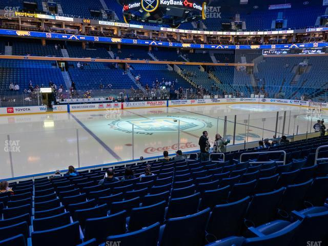 KeyBank Center Section 118 view