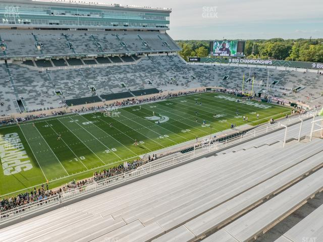 Spartan Stadium Section 112 view