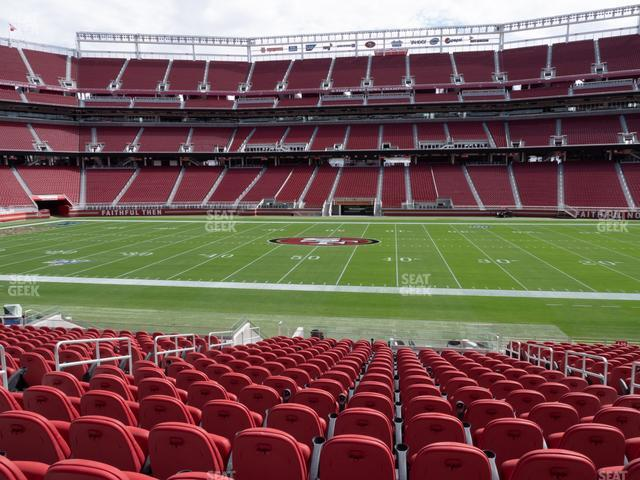 Levi's Stadium Section C 137 view