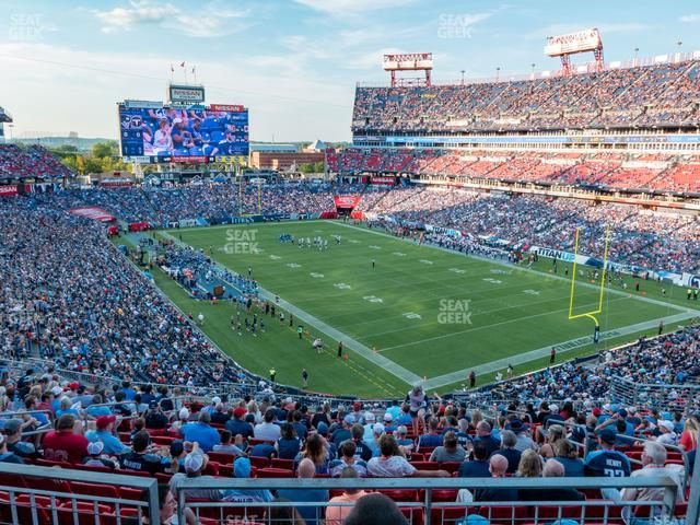 Nissan Stadium Section 226 view
