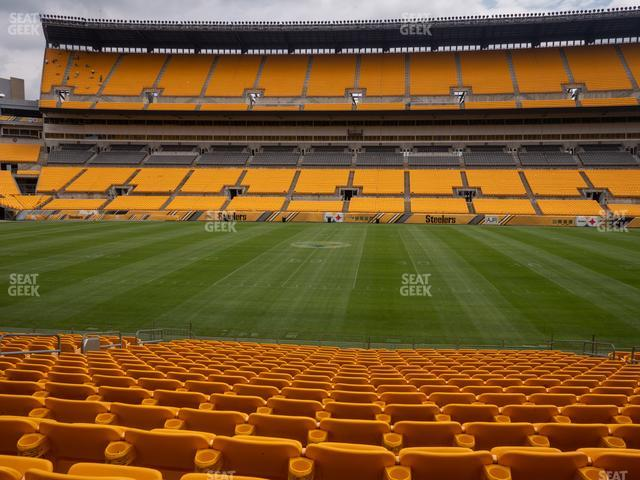 Heinz Field Section 135 view