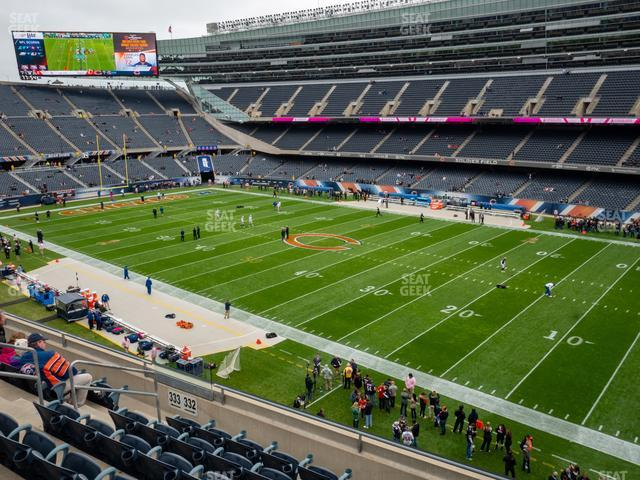 Soldier Field Section 332 view