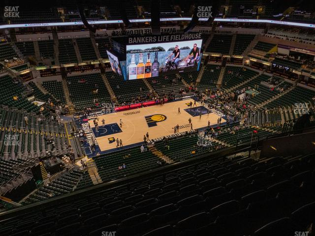 Bankers Life Fieldhouse Section 226 view