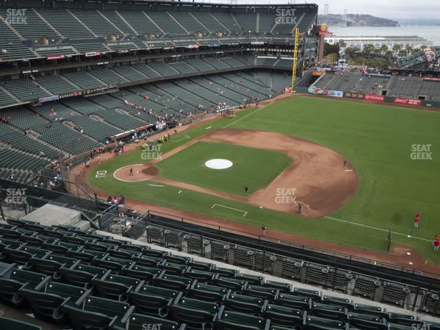 Oracle Park Section 305 view