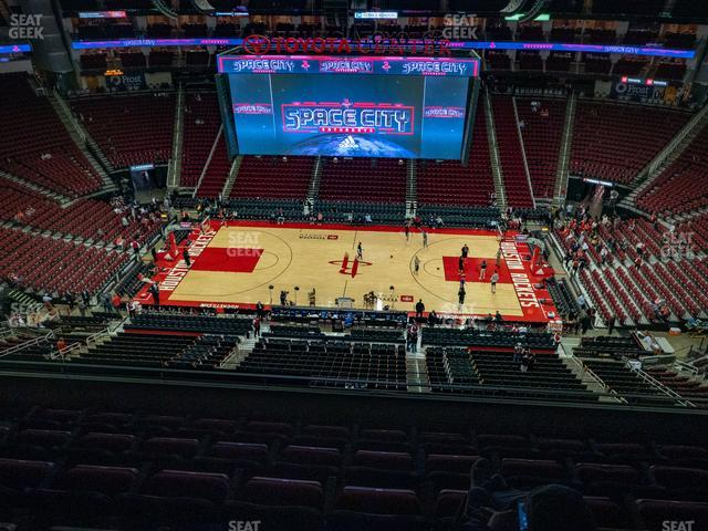 Toyota Center Section 426 view