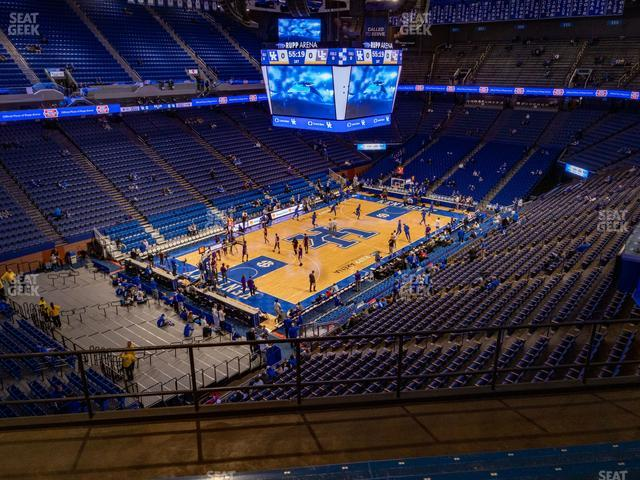 Rupp Arena Section 235 view