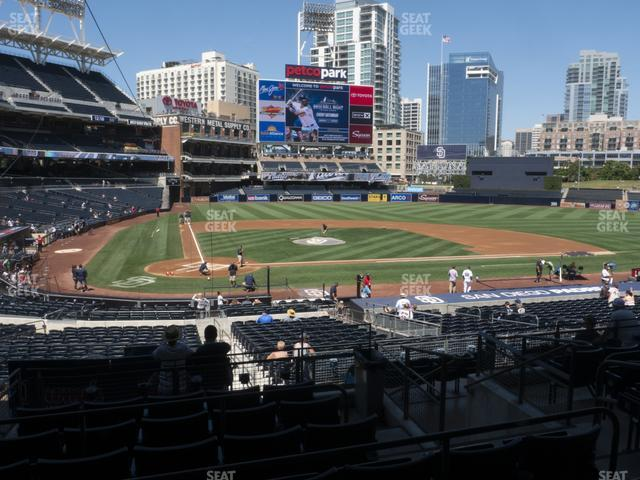 Petco Park Premier Club K view