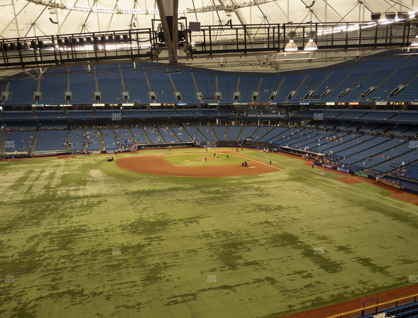 Tampa Bay Rays at Tropicana Field Section 353 View