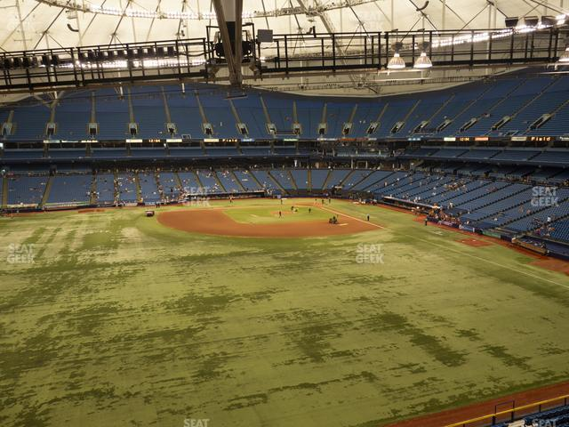 Tropicana Field Section 353 view