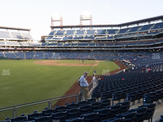 Citizens Bank Park Section 140 view
