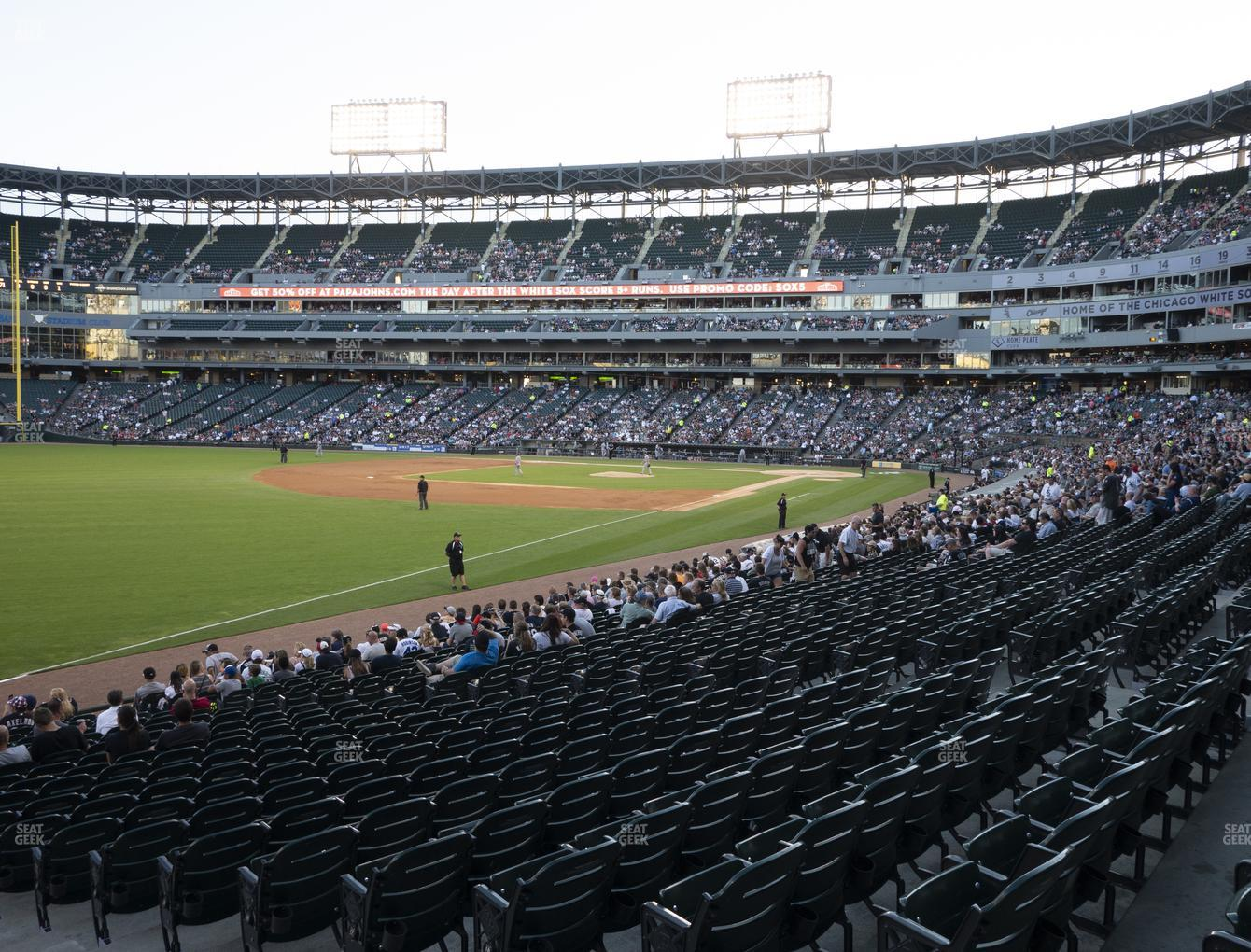 Chicago White Sox at Guaranteed Rate Field Section 152 View