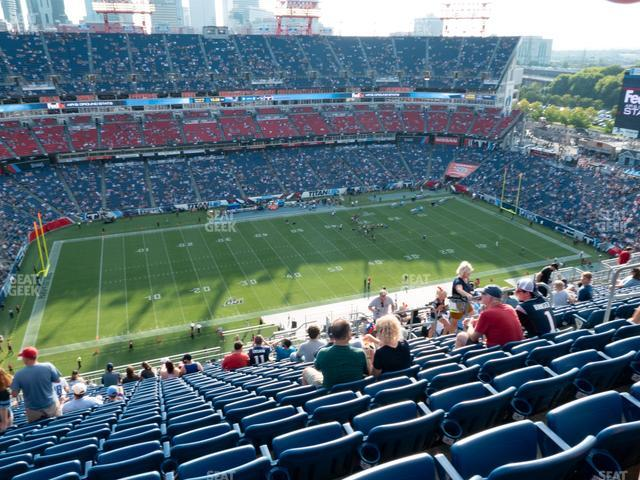 Nissan Stadium Section 315 view