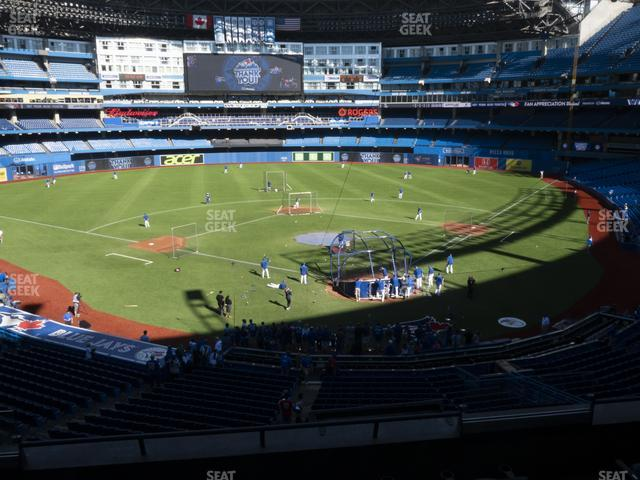 Rogers Centre TD Comfort Club 225 R view