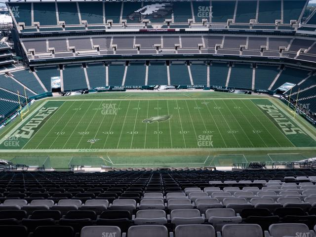 Lincoln Financial Field Section 201 view