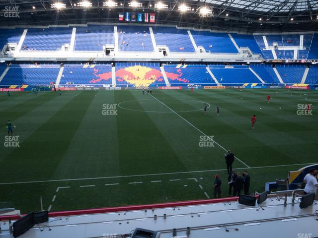 Red Bull Arena Section Audi Club 110 view