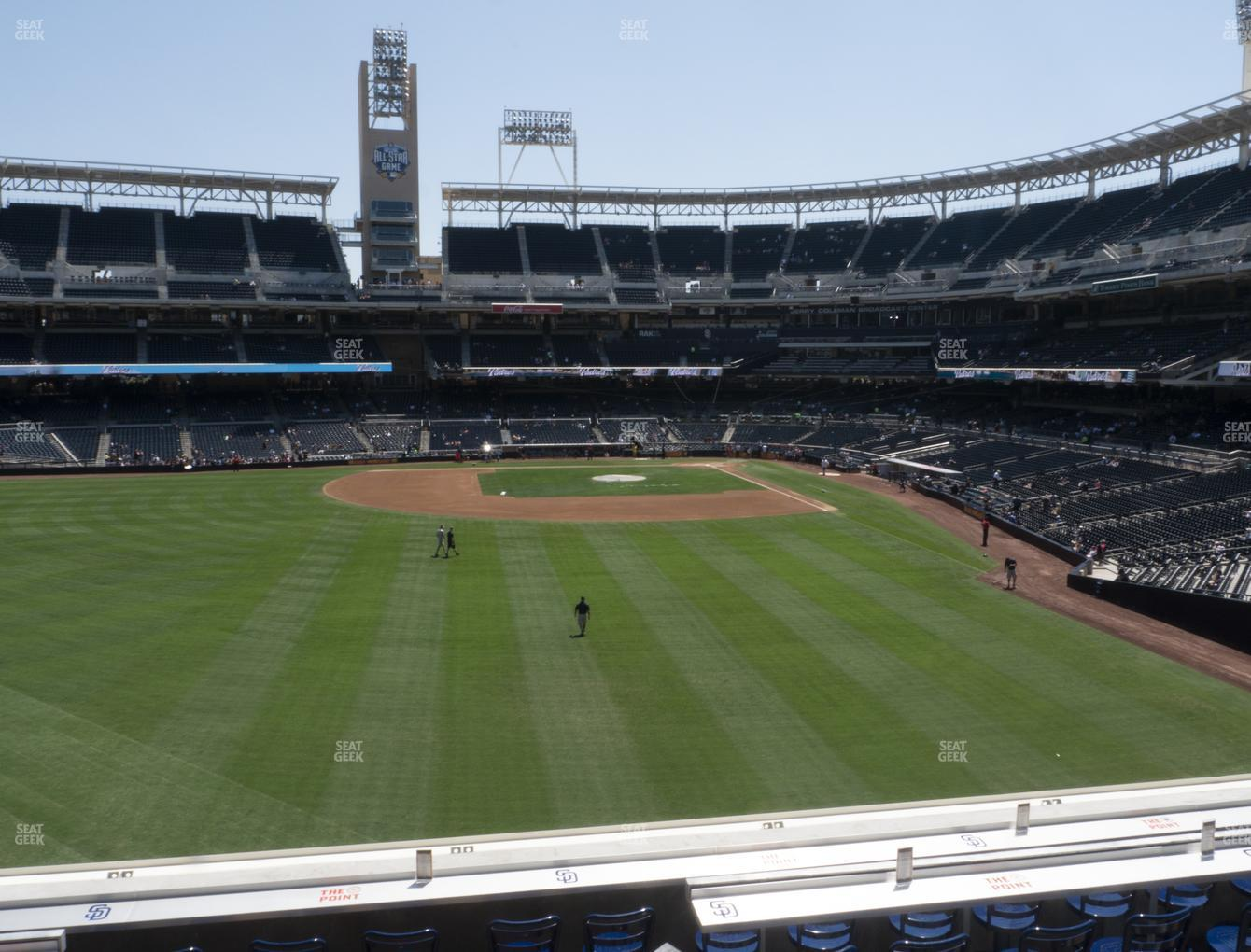 MLB at Petco Park Section 226 View