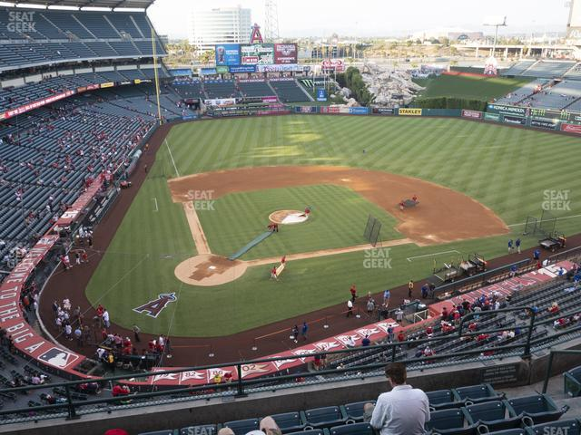 Angel Stadium of Anaheim Section 422 view