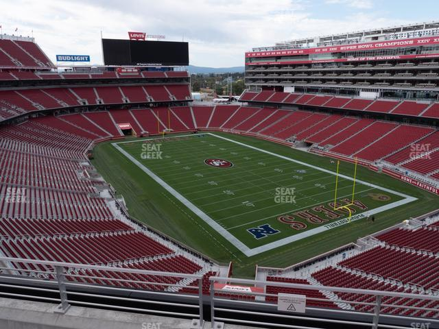 Levi's Stadium Section 307 view