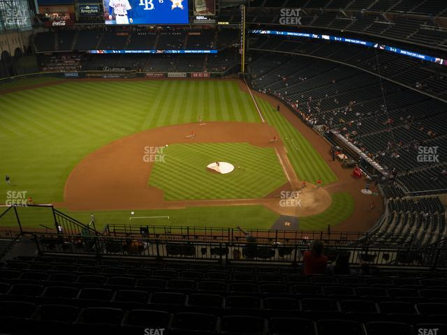 Minute Maid Park Section 414 view