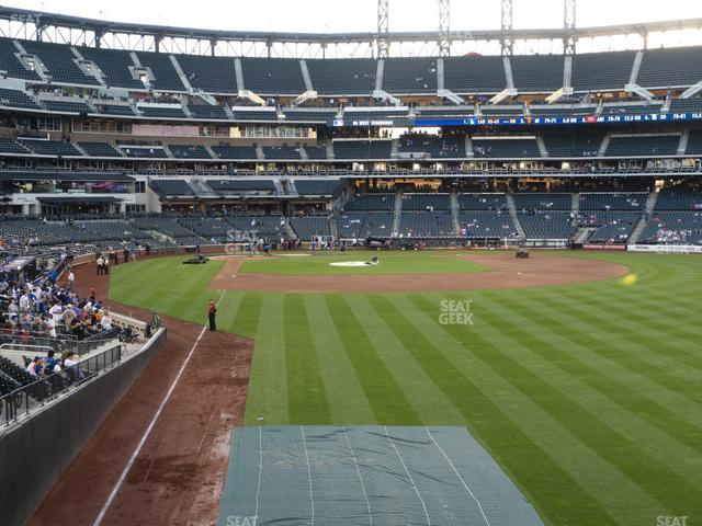 Citi Field Section 103 view