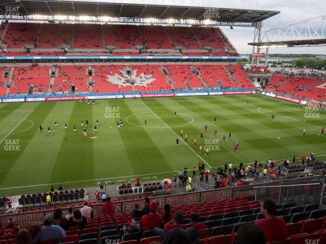 BMO Field Section 224 view