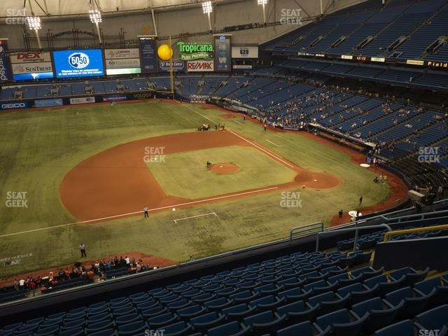 Tropicana Field Section 313 view