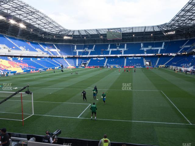 Red Bull Arena Section 117 view