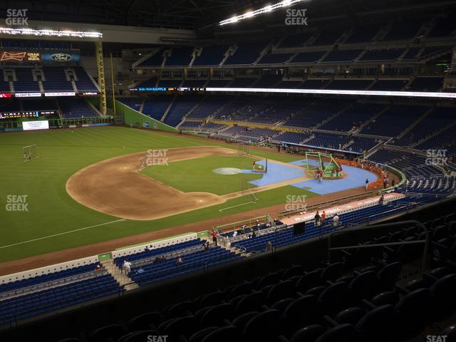 Marlins Park Section 223 view