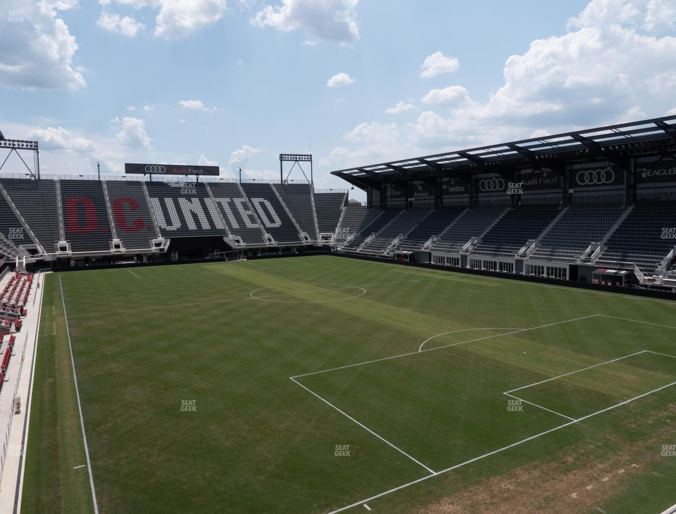 D.C. United at Audi Field Rooftop Bar View