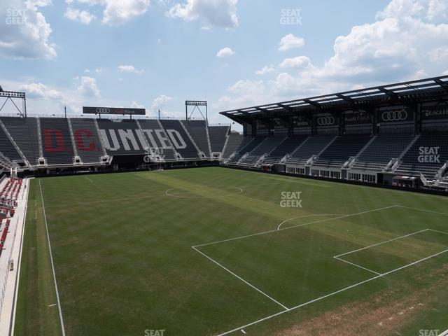 Audi Field Rooftop Bar view
