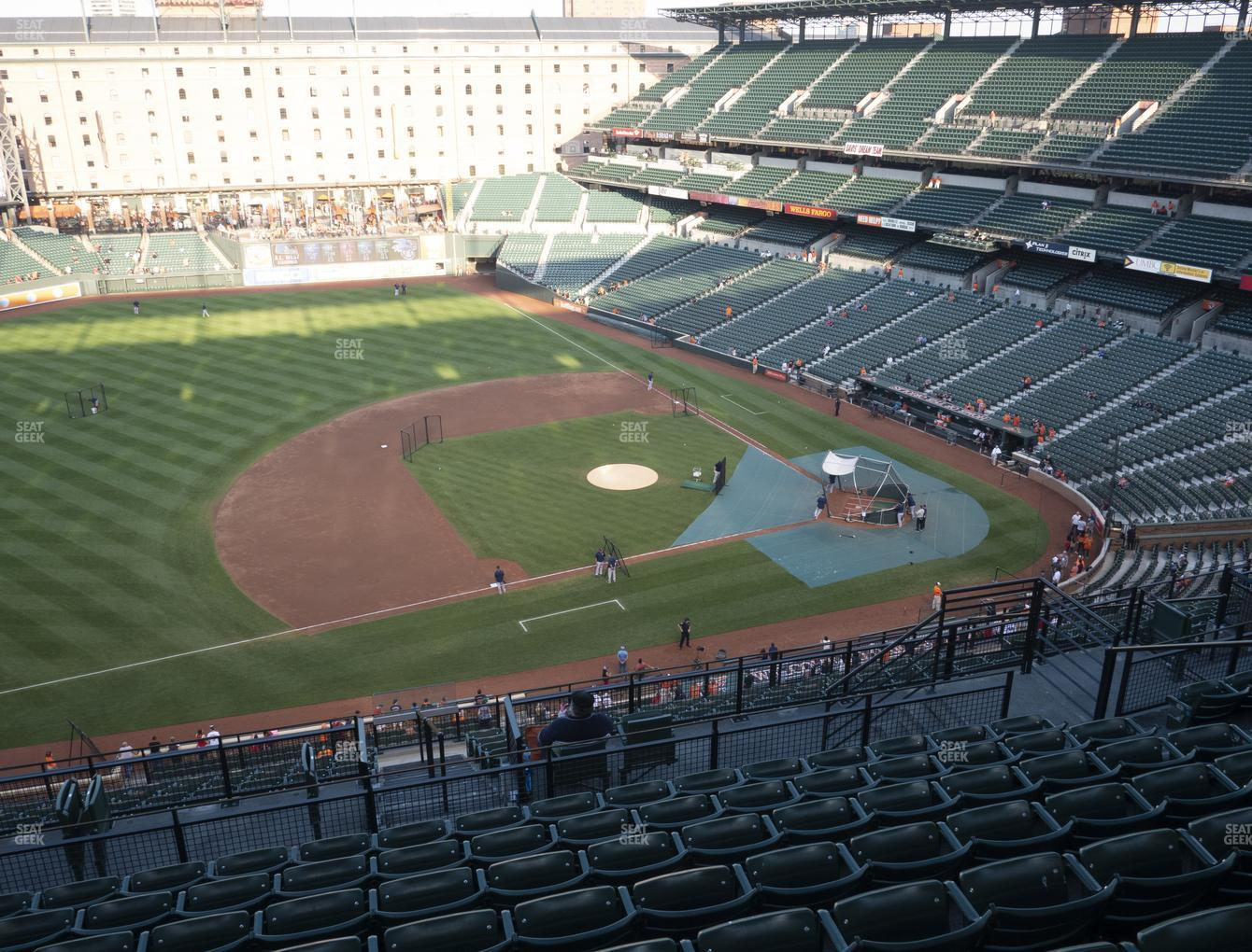 Baltimore Orioles at Oriole Park at Camden Yards Section 354 View