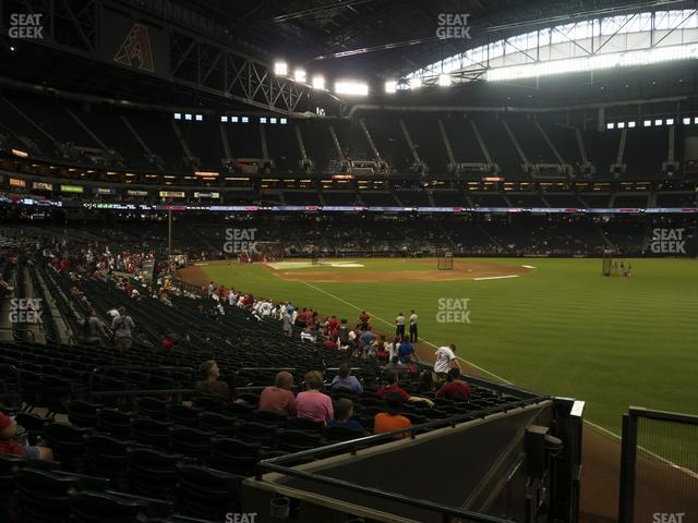 Chase Field Section 108 view