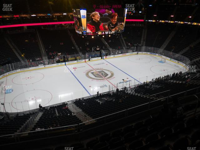 T-Mobile Arena Section 220 view