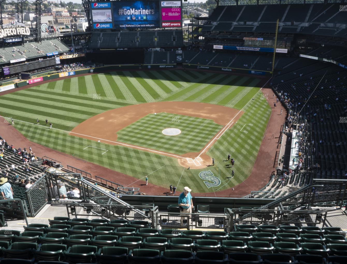 Seattle Mariners at T-Mobile Park Section 332 View