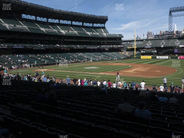 T-Mobile Park Section 119 view