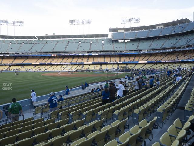 Dodger Stadium Field Box 47 view