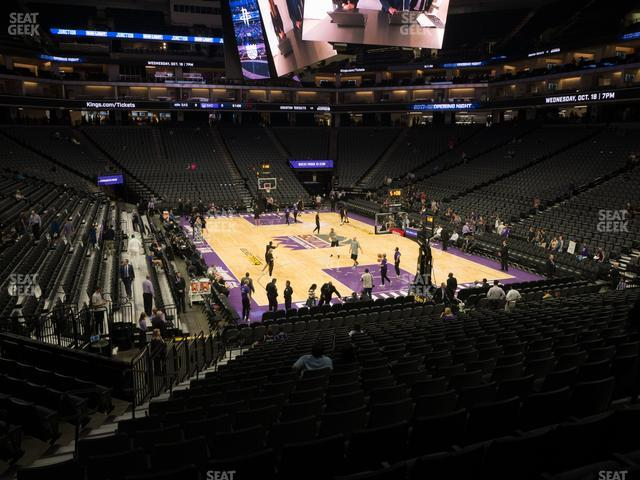 Golden 1 Center Section 102 view