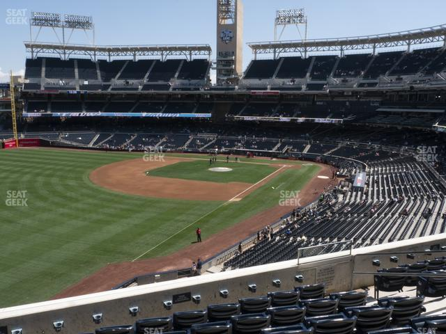 Petco Park Section 222 view