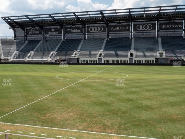 Audi Field Section Club 4 view