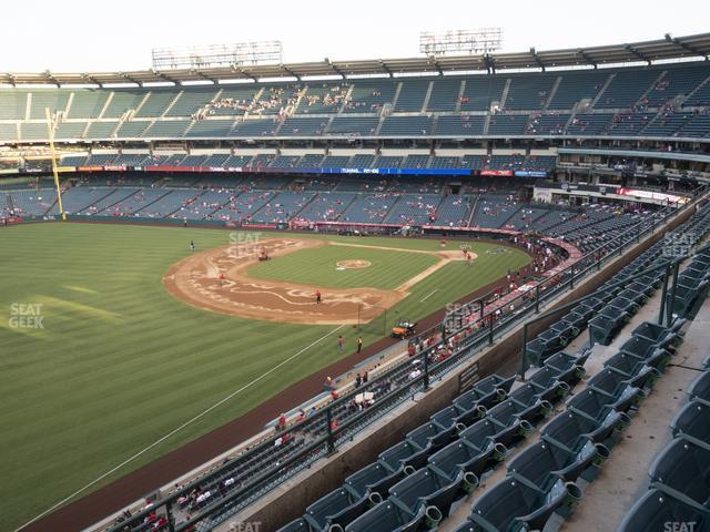 Angel Stadium of Anaheim Section 407 view