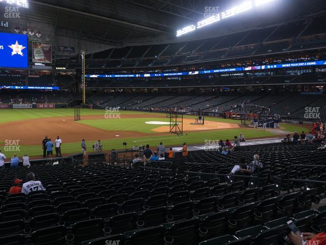 Minute Maid Park Section 111 view
