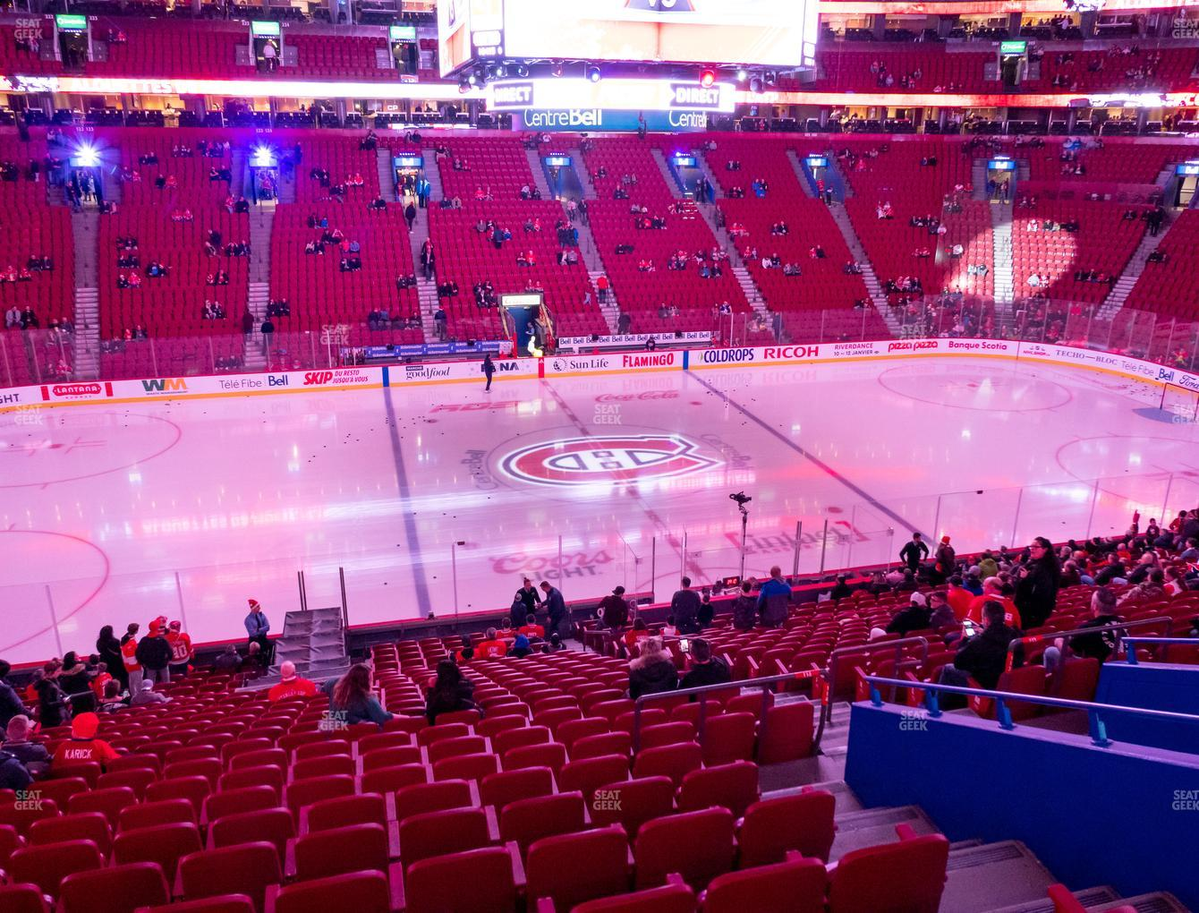 Bell Centre Section 114 Seat Views | SeatGeek