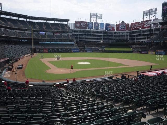 Globe Life Park Section 29 view
