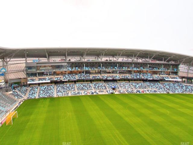 Allianz Field Section 116 view