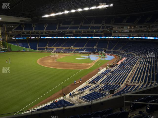 Marlins Park Section 228 view