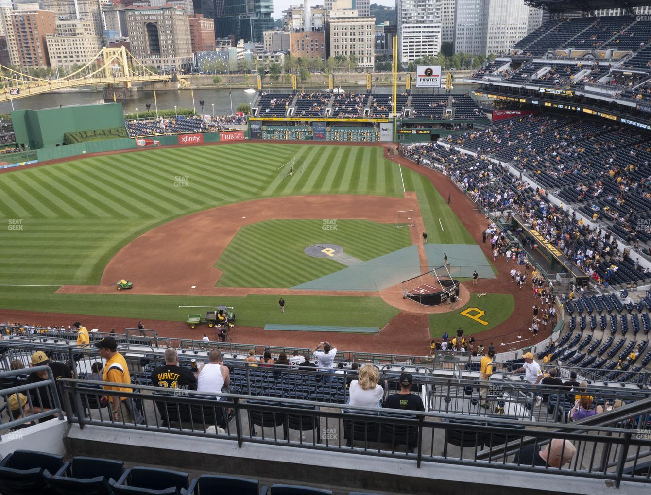 Pittsburgh Pirates at PNC Park Section 322 View