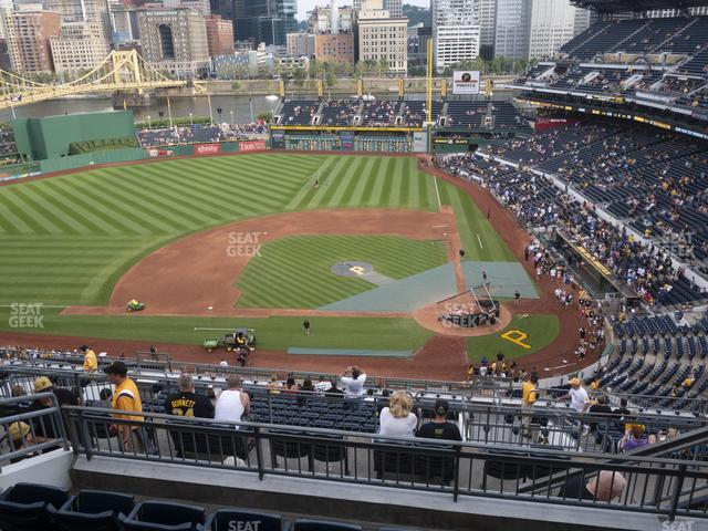 PNC Park Section 322 view